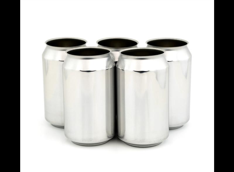 330ml Sølv Ølboks - 216stk